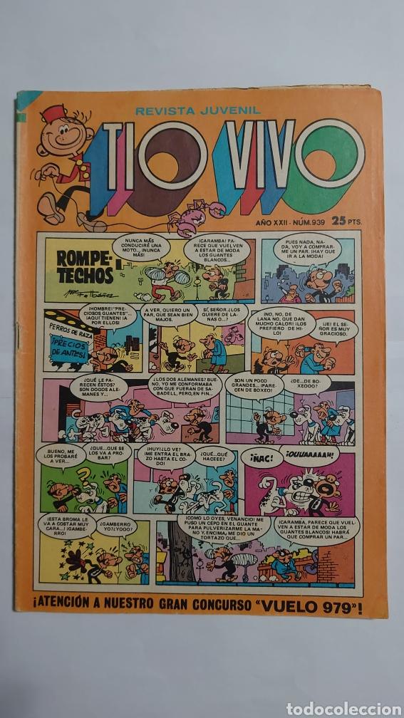 TÍO VIVO NUM. 939 (Tebeos y Comics - Bruguera - Tio Vivo)