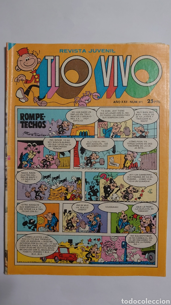 TÍO VIVO NUM. 971 (Tebeos y Comics - Bruguera - Tio Vivo)