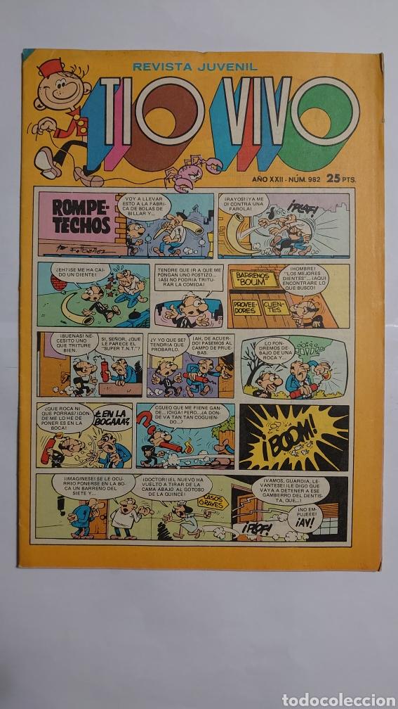 TÍO VIVO NUM. 982. (Tebeos y Comics - Bruguera - Tio Vivo)