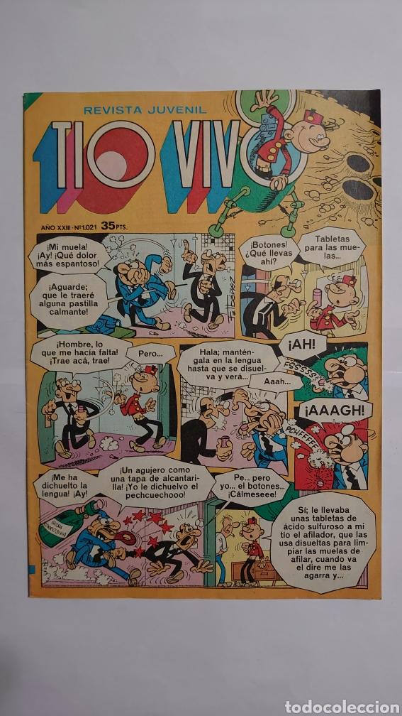 TÍO VIVO NUM. 1021 (Tebeos y Comics - Bruguera - Tio Vivo)