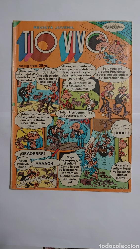 TÍO VIVO NUM. 1028 (Tebeos y Comics - Bruguera - Tio Vivo)