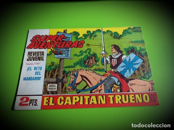 EL CAPITAN TRUENO Nº 616 -ORIGINAL- IMPECABLE ESTADO (Tebeos y Comics - Bruguera - Capitán Trueno)