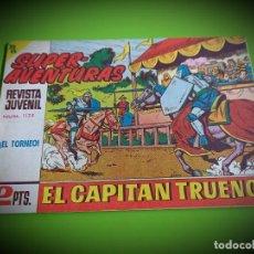 Tebeos: EL CAPITAN TRUENO Nº 589 -ORIGINAL- IMPECABLE ESTADO. Lote 269102808