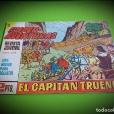 Tebeos: EL CAPITAN TRUENO Nº 588 -ORIGINAL- IMPECABLE ESTADO. Lote 269102903