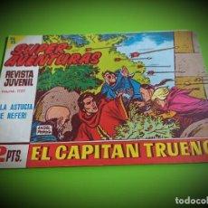 Tebeos: EL CAPITAN TRUENO Nº 587 -ORIGINAL- IMPECABLE ESTADO. Lote 269103018