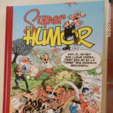 Tebeos: SUPER HUMOR - TOMO 17 - EDICIONES B 2001 - MORTADELO Y FILEMÓN.. Lote 269159048