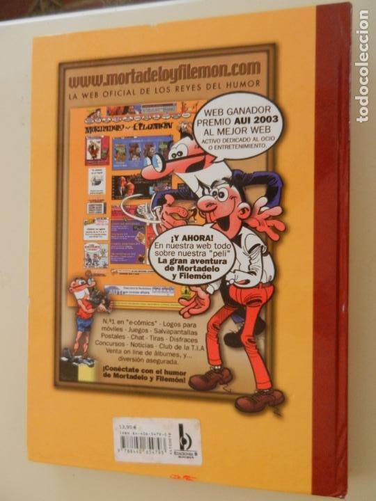 Tebeos: SUPER HUMOR - TOMO 18 - EDICIONES B 2004 - 5ª EDICIÓN - MORTADELO Y FILEMÓN. - Foto 3 - 269159403