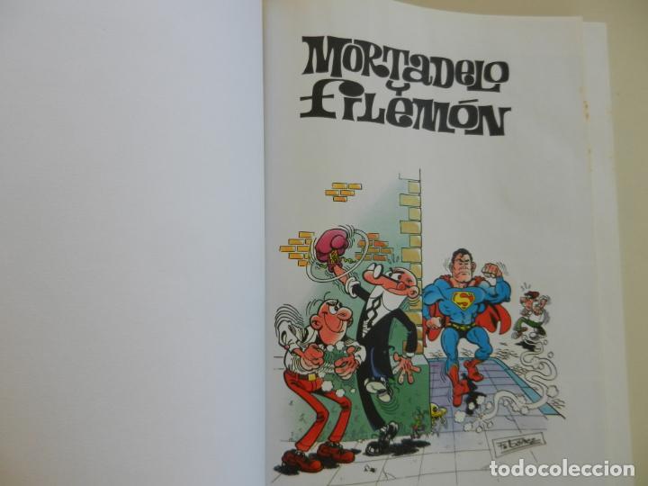 Tebeos: SUPER HUMOR - TOMO 18 - EDICIONES B 2004 - 5ª EDICIÓN - MORTADELO Y FILEMÓN. - Foto 4 - 269159403