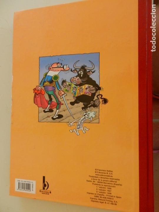 Tebeos: SUPER HUMOR - TOMO 20 - EDICIONES B 1999 - MORTADELO Y FILEMÓN. - Foto 4 - 269159763