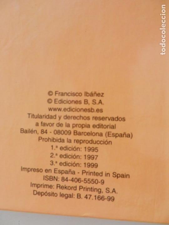 Tebeos: SUPER HUMOR - TOMO 20 - EDICIONES B 1999 - MORTADELO Y FILEMÓN. - Foto 6 - 269159763