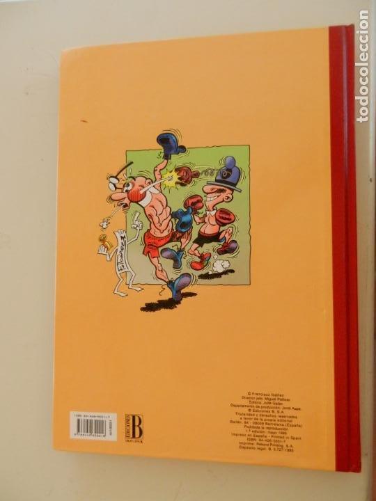 Tebeos: SUPER HUMOR MORTADELO Nº 21 - 1ª EDICION AÑO 1995 - ED. JULIA GALÁN - EDICIONES B. - Foto 3 - 269160293