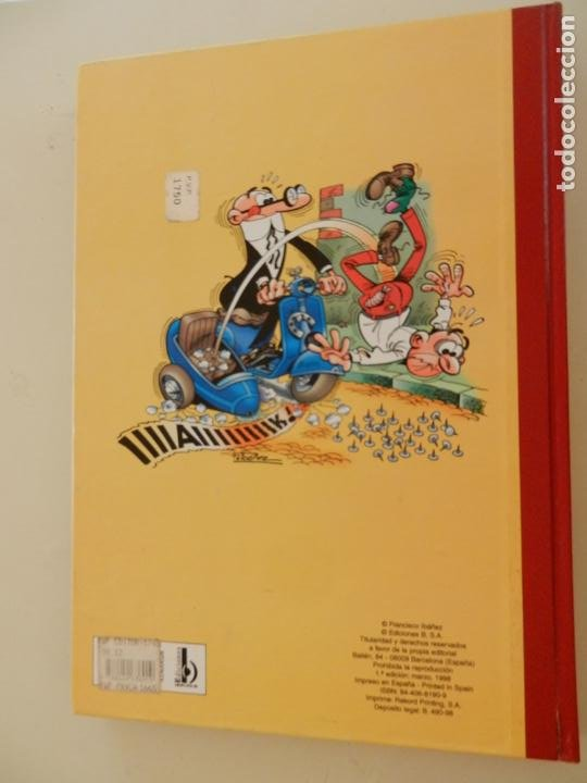 Tebeos: SUPER HUMOR MORTADELO Nº 28 - 1ª EDICION AÑO 1998 - EDICIONES B. - Foto 3 - 269162468