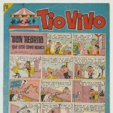 Tebeos: TIO VIVO - Nº 214 - ED. BRUGUERA - 1965. Lote 269209583