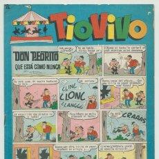 Tebeos: TIO VIVO - Nº 192 - ED. BRUGUERA - 1964. Lote 269209883