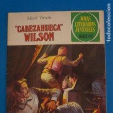 Livros de Banda Desenhada: COMIC DE JOYAS LITERARIAS DE CABEZAHUECA WILSON AÑO 1979 Nº 209 DE EDICIONES BRUGUERA LOTE 22 C. Lote 269228408