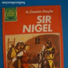Tebeos: COMIC DE JOYAS LITERARIAS DE SIR NIGEL AÑO 1979 Nº 265 DE EDICIONES BRUGUERA LOTE 14 C. Lote 269229833
