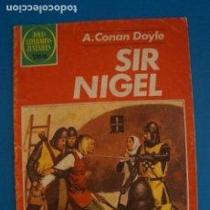 Tebeos: COMIC DE JOYAS LITERARIAS DE SIR NIGEL AÑO 1979 Nº 265 DE EDICIONES BRUGUERA LOTE 14 C. Lote 269229928