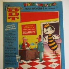 Tebeos: DDT (1951, BRUGUERA) -CONTRA LAS PENAS- 324 · 1-VIII-1957 · EL DDT. Lote 269308408