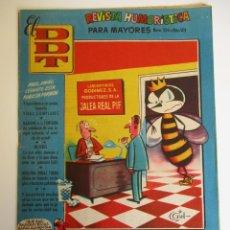 Tebeos: DDT (1951, BRUGUERA) -CONTRA LAS PENAS- 324 · 1-VIII-1957 · EL DDT. Lote 269308728
