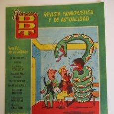 Tebeos: DDT (1951, BRUGUERA) -CONTRA LAS PENAS- 320 · 4-VII-1957 · EL DDT. Lote 269308928