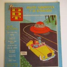 Tebeos: DDT (1951, BRUGUERA) -CONTRA LAS PENAS- 318 · 20-VI-1957 · EL DDT. Lote 269316338