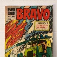 Tebeos: BRAVO #7 BRUGUERA 1ª EDICIÓN. Lote 269319463