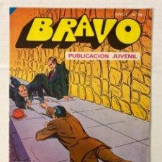 Tebeos: BRAVO 76 / INSPECTOR DAN 38 - BRUGUERA - EN BUEN ESTADO. Lote 269320663