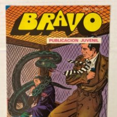 Tebeos: BRAVO 72 / INSPECTOR DAN 36 - BRUGUERA - EN BUEN ESTADO. Lote 269320743