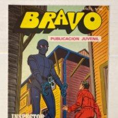 BDs: BRAVO 66 / INSPECTOR DAN 33 - BRUGUERA - EN BUEN ESTADO. Lote 269320933