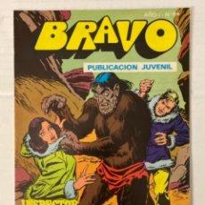 Tebeos: BRAVO 64 / INSPECTOR DAN 32 - BRUGUERA - EN BUEN ESTADO. Lote 269320973