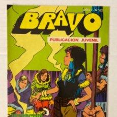 Tebeos: BRAVO 62 / INSPECTOR DAN 31 - BRUGUERA - EN BUEN ESTADO. Lote 269321048