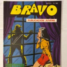Tebeos: BRAVO 60 / INSPECTOR DAN 30 - BRUGUERA - EN BUEN ESTADO. Lote 269321108