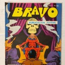 BDs: BRAVO 50 / INSPECTOR DAN 25 - BRUGUERA - EN BUEN ESTADO. Lote 269321398