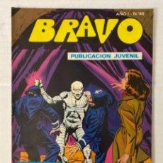 BDs: BRAVO 46 / INSPECTOR DAN 23 - BRUGUERA - EN BUEN ESTADO. Lote 269321488