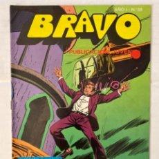 Tebeos: BRAVO 38 / INSPECTOR DAN 19 - BRUGUERA - EN BUEN ESTADO. Lote 269321658