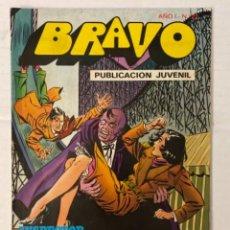 Tebeos: BRAVO 22 / INSPECTOR DAN 11 - BRUGUERA - EN BUEN ESTADO. Lote 269322013