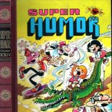 Tebeos: SUPER HUMOR VOLUMEN XXIV 1978 PRIMERA EDICIÓN - 360 PÁGINAS DE MORTADELO Y FILEMÓN Y OTROS. Lote 269335443