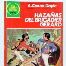 Tebeos: JOYAS LITERARIAS JUVENILES 267. HAZAÑAS DEL BRIGADIER GERARD (CONAN DOYLE) BRUGUERA, 1983. OFRT. Lote 271929493