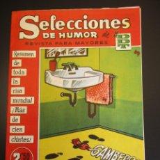 Tebeos: DDT (1956, BRUGUERA) -SELECCIONES DE HUMOR- 101 · 1-IX-1958 · SELECCIONES DE HUMOR DE EL DDT. Lote 269336013