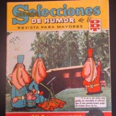 Tebeos: DDT (1956, BRUGUERA) -SELECCIONES DE HUMOR- 114 · 1-XII-1958 · SELECCIONES DE HUMOR DE EL DDT. Lote 269336093