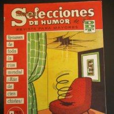 Tebeos: DDT (1956, BRUGUERA) -SELECCIONES DE HUMOR- 97 · 4-VIII-1958 · SELECCIONES DE HUMOR DE EL DDT. Lote 269337118