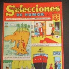 Tebeos: DDT (1956, BRUGUERA) -SELECCIONES DE HUMOR- 38 · 17-VI-1957 · SELECCIONES DE HUMOR DE EL DDT. Lote 269337818