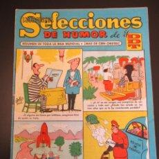 Tebeos: DDT (1956, BRUGUERA) -SELECCIONES DE HUMOR- 21 · 18-II-1957 · SELECCIONES DE HUMOR DE EL DDT. Lote 269344613
