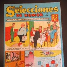 Tebeos: DDT (1956, BRUGUERA) -SELECCIONES DE HUMOR- 18 · 28-I-1957 · SELECCIONES DE HUMOR DE EL DDT. Lote 269344988