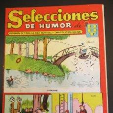 Tebeos: DDT (1956, BRUGUERA) -SELECCIONES DE HUMOR- 11 · 10-XII-1956 · SELECCIONES DE HUMOR DE EL DDT. Lote 269345768