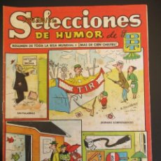 Tebeos: DDT (1956, BRUGUERA) -SELECCIONES DE HUMOR- 1 · 3-IX-1956 · SELECCIONES DE HUMOR DE EL DDT. Lote 269346293