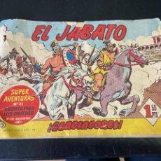 Tebeos: JABATO Nº 3 RESERVADO. Lote 269390373