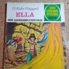 Tebeos: COMIC DE JOYAS LITERARIAS JUVENILES ELLA DEL AÑO 1976 Nº 151. Lote 269396208