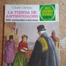 Tebeos: COMIC DE JOYAS LITERARIAS JUVENILES LA TIENDA DE ANTIGÜEDADES DEL AÑO 1976 Nº 154. Lote 269396873