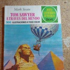 Tebeos: COMIC DE JOYAS LITERARIAS JUVENILES TOM SAWYER A TRAVES DEL MUNDO DEL AÑO 1975 Nº 24. Lote 269400863